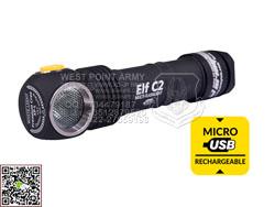 加拿大 ARMYTEK 阿米泰克 Elf C2 Micro-USB+18650 1050流明 强光手电-多功能系列 质保10年(现货)