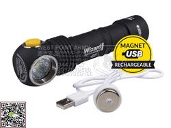 加拿大 ARMYTEK 阿米泰克 Wizard Pro v3 Magnet USB+18650 2300流明 强光手电-多功能系列 质保10年(现货)