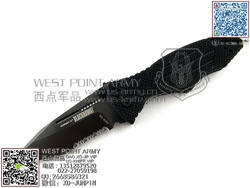 "BlackHawk 15H211BK Hornet II 美国黑鹰大黄蜂II半齿""折"""