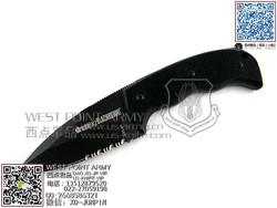 """BlackHawk 15C210Bk Crucible FX2 美国黑鹰巅峰战士FX2半齿""""直"""""""