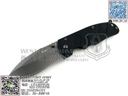 "Boker博客 01BO560 M Type, Black G-10 Handle""折"""