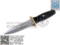 """Boker博客 546 BOOT KNIFE APPLEGATE-FAIRBAIRN阿普尔盖特-费尔贝恩双刃""""直"""""""
