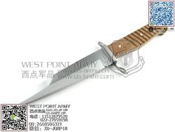 """Boker博客 索林根制造B-121918 TRENCH KNIFE复古版""""直""""(现货)"""