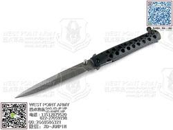 "ColdSteel 冷钢 26ACSTX 新版 超大号 CTS® XHP Alloy 钢材 7075铝合金快速单手""折"""