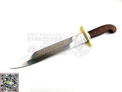 ColdSteel冷钢 88GRB 1849Rifleman's 火枪手短剑