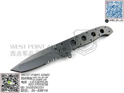 "C.R.K.T 哥伦比亚河 CRM16-14T M16系列钛金属柄Tanto""折"""