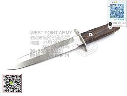 "FOX Knives 意大利狐狸FX-595W ARDITI N690Co钢 Ziricote木柄""直""(现货)"
