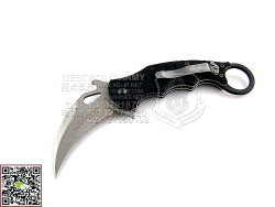 "FOX Knives 意大利狐狸 478BSW""Karambit  虎爪""N690Co钢 6061-T6航空铝材柄 防卫""折"""