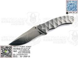 "FOX Knives 意大利狐狸 OLC-0112/2TI""BRAVADO 冒险""N690钢 Titanium钛合金柄""折"""