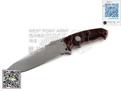 """HOGUE 霍格 SIG37175  EX-F01 A2钢 G10柄 强大""""直""""(现货)"""