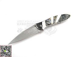 Kershaw LEEk 1660 Obsidian 黑曜石镶嵌珍珠贝母 助力快开小折(现货)