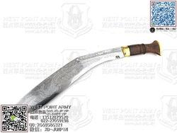 Khukuri House尼泊尔 廓尔克民族风 18寸实木雕龙弯刃