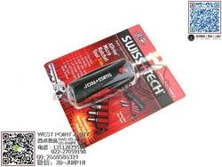 SWISS+TECH 瑞士科技 XDrive Micro Ratchet Tool 7-in-1 7合1微型荆棘轮工具(现货)