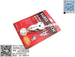 SWISS+TECH 瑞士科技 Key Ring Multi-Tool 7-in-1 7合1钥匙扣工具