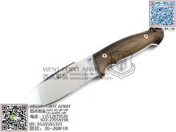 """Viper Knives 意大利毒蛇 V4874ZI N690Co钢 斯科特木柄""""直"""""""