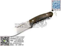 """Viper Knives 意大利毒蛇 V4878ZI N690Co钢 斯科特木柄""""直"""""""