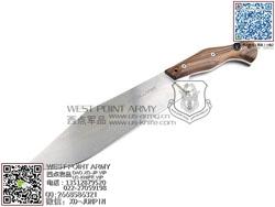 "Viper Knives 意大利毒蛇 VT4006SWCB D2钢 天然山多木柄""直"""