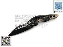 "WEknives 906CFB  M390钢 钛合金柄+碳纤维 ""折""(现货)"
