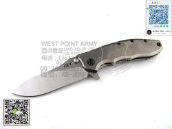Zero Tolerance 零误差 0562TI CPM20CV钢 钛柄 折(现货)