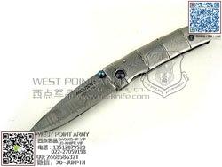"""MCUSTA 传世家徽 MC-33D 和风设计大马士革钢""""折"""" 竹节物语"""
