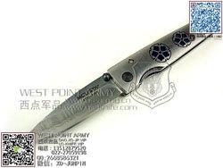 MCUSTA 传世家徽 MCUSTA-92D 大马士革钢