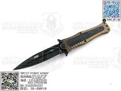 """HTM DDR MM4SGBVB Madd Maxx 4系列 CPM S35VN DLC钻石涂层 钛金波浪金航空钛合金柄 手工助力快开""""折"""""""