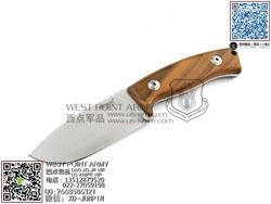 Lion Steel 意大利狮子 M2 UL D2钢 橄榄木木柄