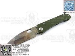 "Medford knife 美国 梅德伏德 187DPT ""Drop Point 水滴""定制钛金属+G10柄手工""折"""