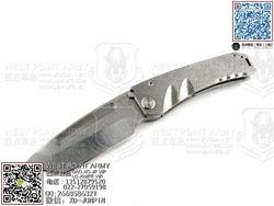 "Medford knife 美国 梅德伏德 MAR ""Marauder 掠夺者""定制钛金属柄手工实用TANTO ""折"""