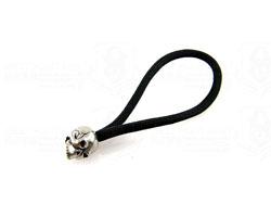 schmuckatellico Classic Standard Zipper Pull Pewter 骷髅刃坠