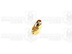 schmuckatellico Spartan Bead - 18K Gold Plated 18K金斯巴达刃坠配件