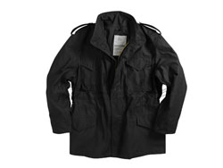 Alpha 美国 阿尔法 M65 Field Coat经典款风衣外套 美君作战风衣 休闲君迷冲锋衣黑色
