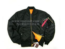 美国 ALPHA 阿尔法 Boys MA-1 Jacket 飞行夹克 尼龙面料 舒适耐用 黑色