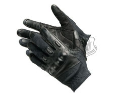 BlackHawk 黑鹰 8157BK Fury Commando HD w/Kevlar 怒火司令射击手套/黑色(现货)