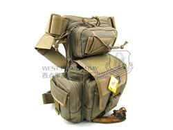 MAGFORCE 麦格霍斯 台产 马盖先 0427K MF机动腰包战斗版 卡其色(现货)