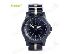 [全球联保] 瑞士机芯 Traser P6600 SAND 美君现役君用手表 尼龙表带