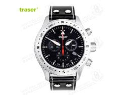 [全球联保] 瑞士机芯 Traser T5302 Aviator Jungmann飞行表 黑骑士 飞行官专用手表