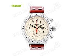 [全球联保] 瑞士机芯 Traser T5302 Aviator Jungmeister飞行表 红男爵 飞行官专用手表