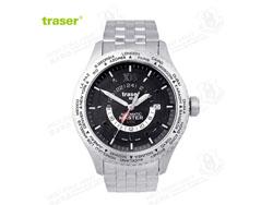 [全球联保] 瑞士机芯 traser T5402 自动王爵 世界时间版 全自动机械表 手表