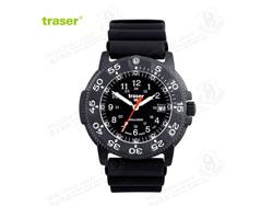 [全球联保] 瑞士机芯 Traser P6504 930 Black Storm 黑色风暴纪念版 橡胶表带 手表(特价-现货)