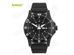 [全球联保] 瑞士机芯 Traser P6600 美君现役君用手表橡胶表带(特价-现货)