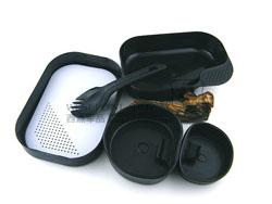 瑞典WILDO 户外便携行君餐具/饭盒/餐盒 环保 野外 露营 不含BPA 纯色套装(现货)