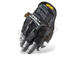 Mechanix 超级技师 M-Pact® Fingerless 防震半指手套 黑色